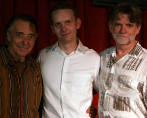 From left: Michael Anthony, Michael Glynn, and Cal Haines. Photo by and courtesy of Victoria Rogers.