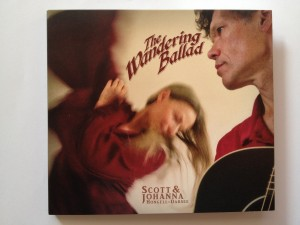 CD Cover The Wandering Ballad