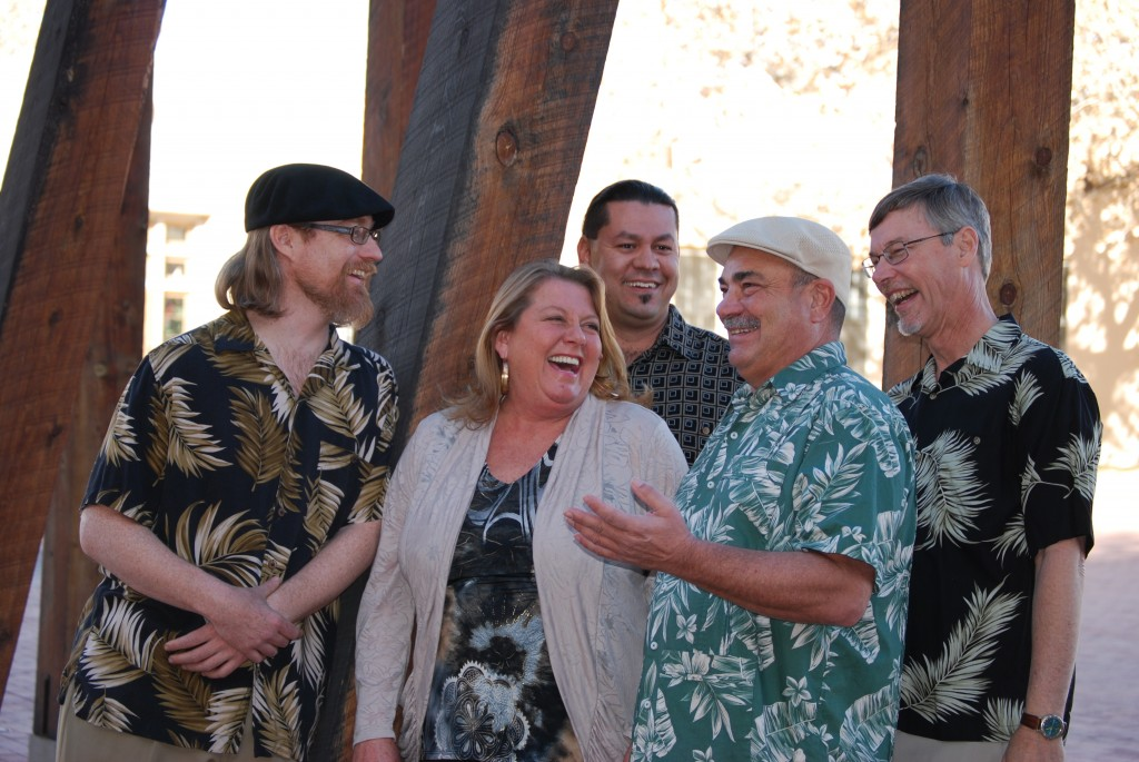 "Brazil Project (left to right): John Bartlit, Patty Stephens, Rob ""Milo"" Jaramillo, Frank Leto, and Bert Dalton"